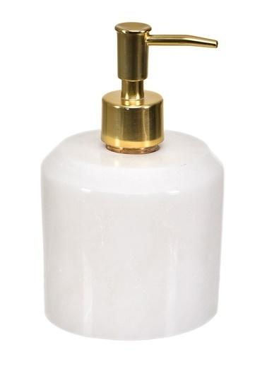 Gaya Stone Sıvı Sabunluk Beyaz